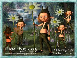 Kelm flower Set01